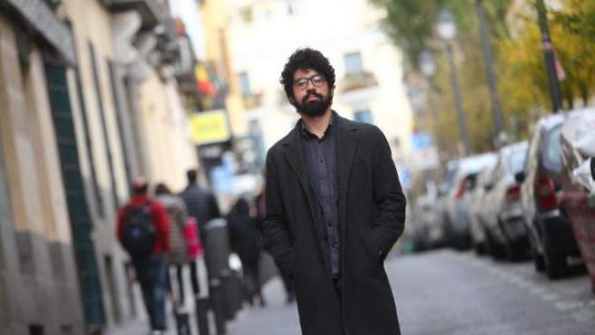 El refugiado ruso David Khakim en Madrid, donde vive desde el año 2015.