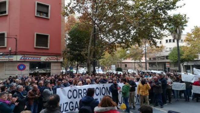 Manifestación Contra Penalva Y Subirán