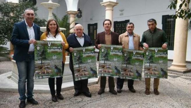 Carrillo en la presentación de la V Feria de la Perdiz con Reclamo