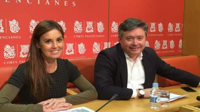 Elisa Díaz y Luis Santamaría