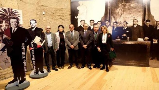 Inauguración de la exposición 'Minervas del 27'