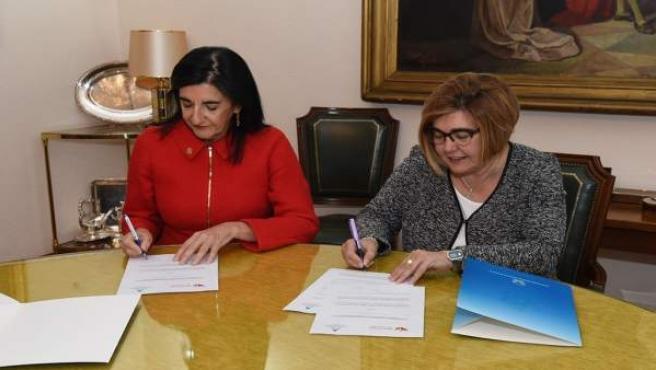 Firma Convenio Dipcc Y Colegio Enfermería Cc