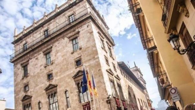 Imagen de archivo del Palau de la Generalitat de la Comunidad Valenciana.