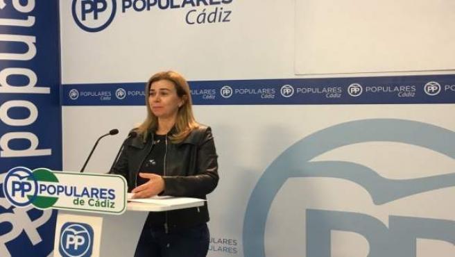 La parlamentaria del PP Teresa Ruiz-Sillero