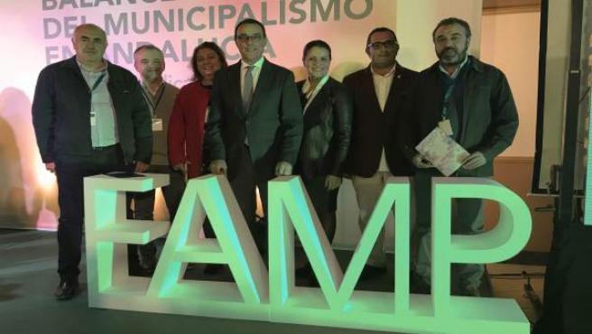 Nota De Prensa Y Fotos Caraballo En El Acto Institucional Del Municipalismo Famp