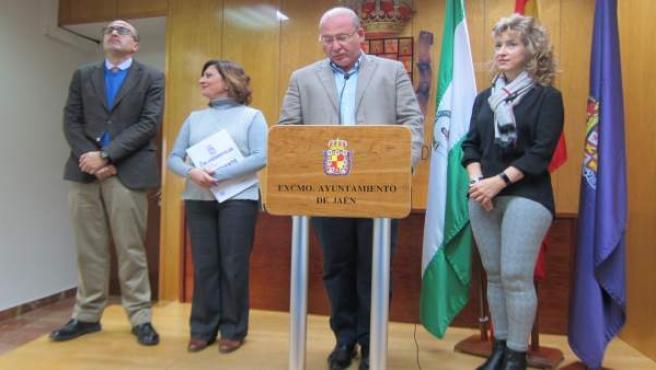 Rueda de prensa de balance de Márquez como alcalde