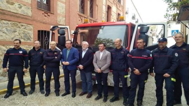 Bomberos del Consorcio Provincial de Huelva.