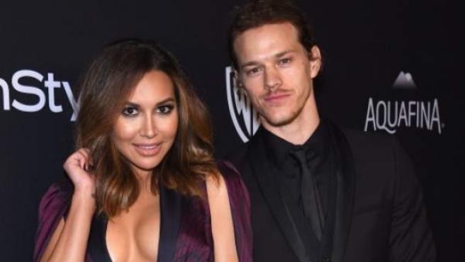 La actriz Nara Rivera junto a su marido, Ryan Dorsey.