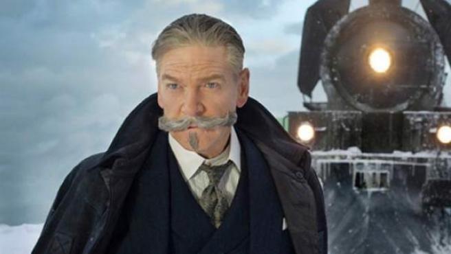 Kenneth Branagh es Hércules Poiret en 'Asesinato en el Orient Express'