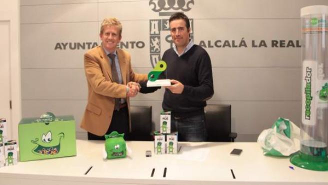 Reconocimiento de Ecopilas a Alcalá la Real