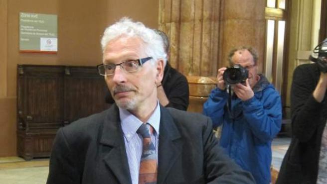 Imagen del exsenador de ERC, Santiago Vidal.