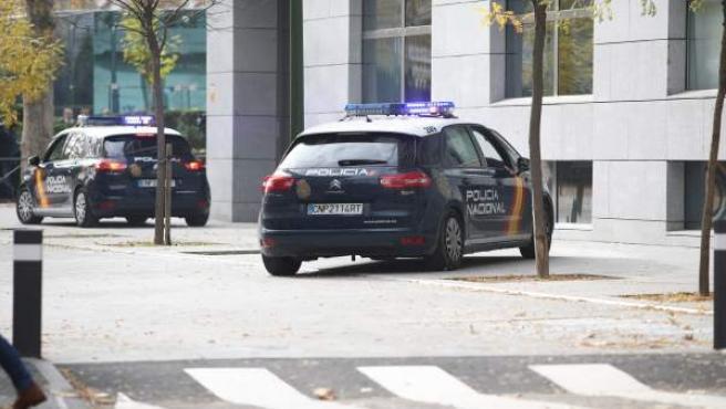 Recursos de coche de Policía Nacional