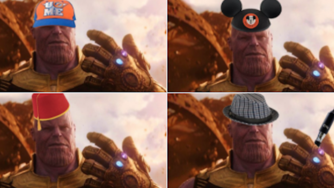 Un gorro para Thanos: Los mejores memes de 'Vengadores: Infinity War'
