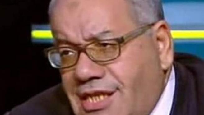 El abogado egipcio Nabih al-Wahsh, durante su intervención en el programa en el que justificó la vioalción a las mujeres que vistan vaqueros rotos.