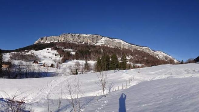 Imagen del macizo del Chartreuse, en los Alpes franceses.