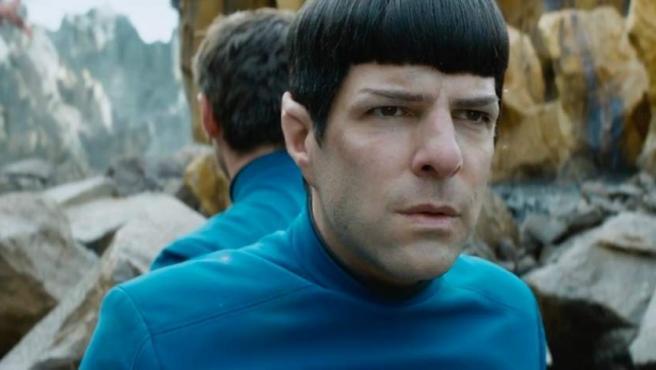 Zachary Quinto como Spock en 'Star Trek: Más allá'.