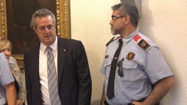 El exconseller de Interior de la Generalitat Joaquim Forn.