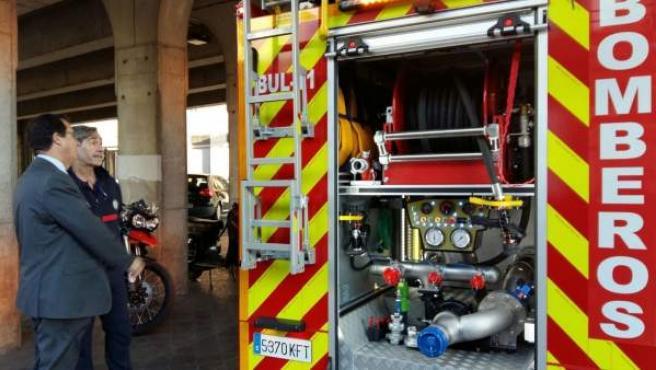 Nuevos camiones de bomberos en Sevilla.