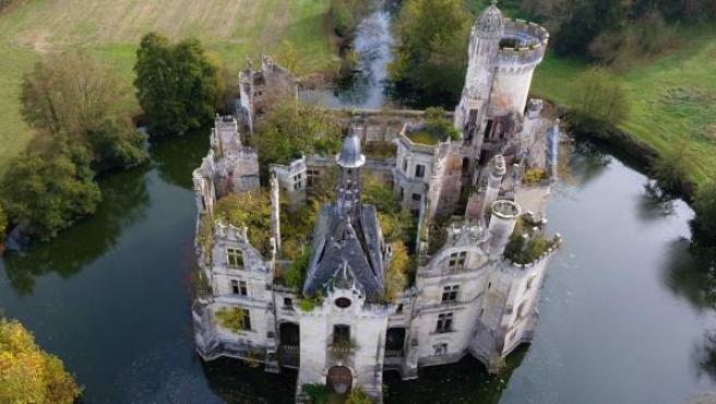 Imagen del castillo La Mothe-Chandeniers.