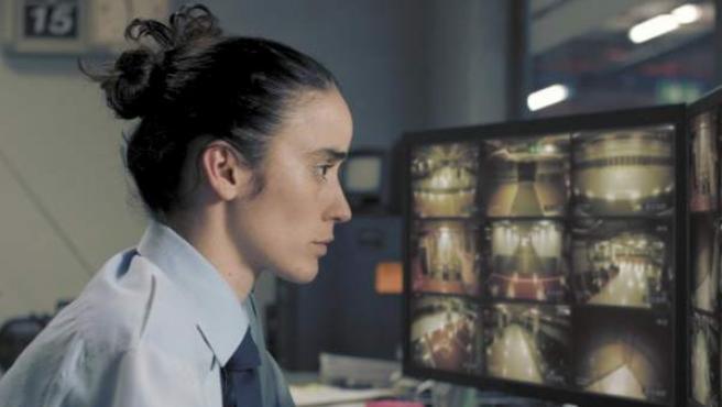 Fotograma del cortometraje 'Timecode', de Juanjo Giménez.