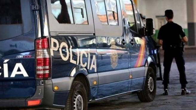 Vehículo de la Policía Nacional, en una imagen de archivo.