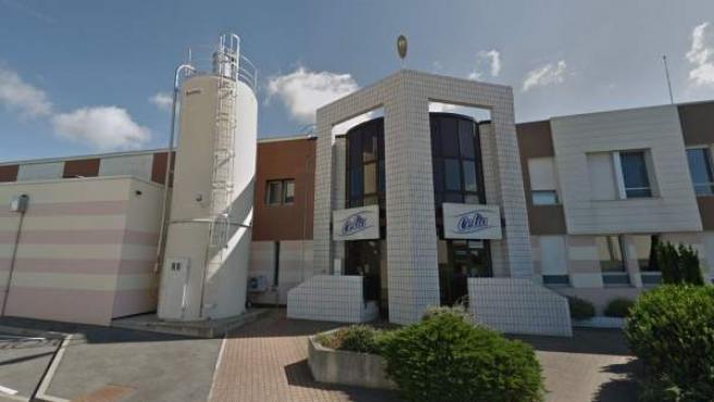 Planta de la empresa francesa Lactalis en la localidad de Craon.