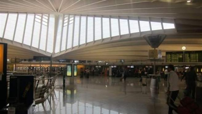 Aeropuerto de Loiu, Bilbao.