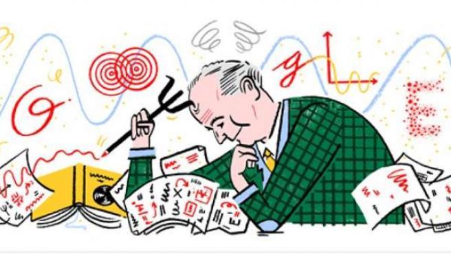 Doodle de Google dedicado al matemático y físico Max Born.