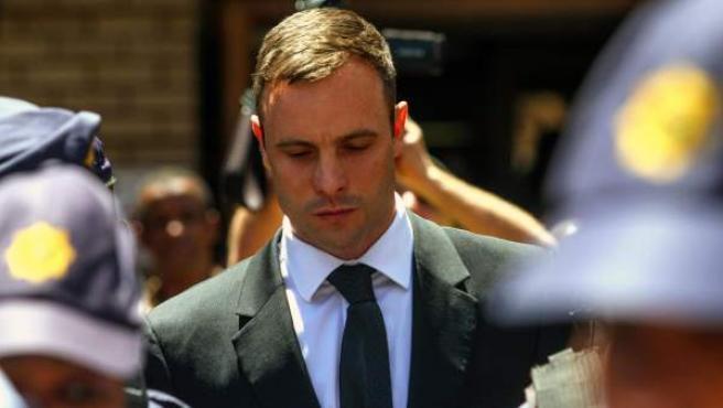 El atleta Oscar Pistorius.