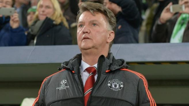 Louis van Gaal en su etapa como entrenador del Manchester United.