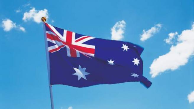 La bandera de Australia.