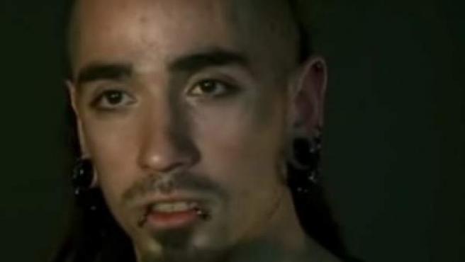 Rodrigo Lanza, en el documental 'Ciutat morta'.