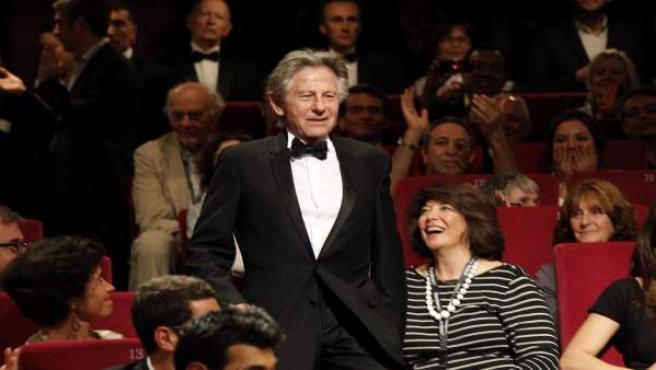 El director de cine Roman Polanski, en el Festival de Cannes.