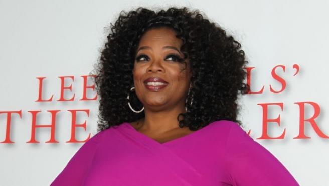 Oprah Winfrey en Los Ángeles.