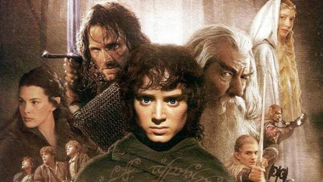 Cartel de la película 'El señor de los anillos: la Comunidad del Anillo'.