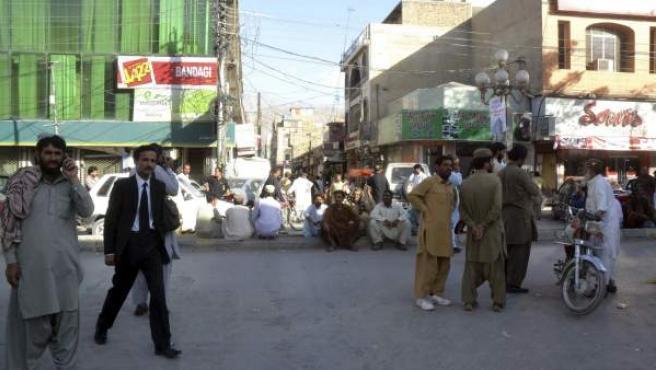 Imagen de archivo de la ciudad de Quetta, en el oeste de Pakistán.