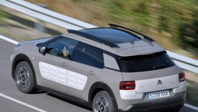 Ejemplo de baca que llevaba el Citroën C4 Cactus 2014, una versión anterior a la actual que acaba de actualizarse.