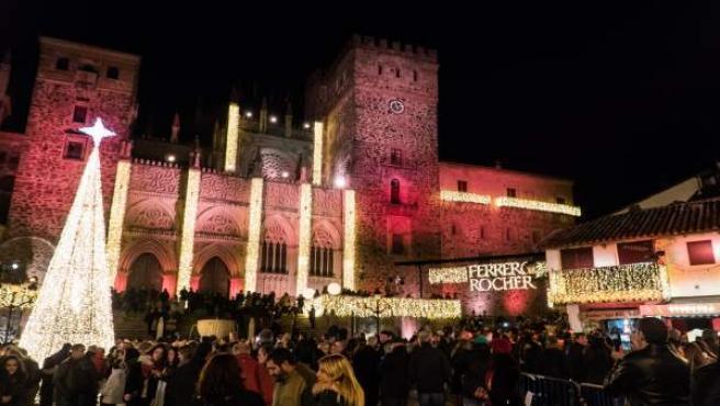 Guadalupe ya luce como el pueblo más bello de España