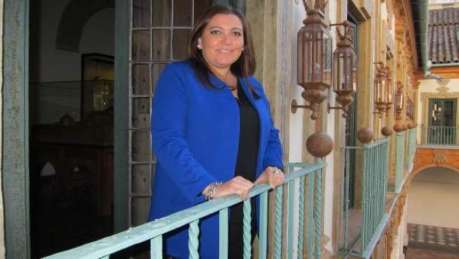 La vicepresidenta segunda de la Diputación, Ana Carrillo