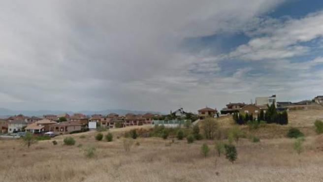 Imagen de la urbanización El Coto, en El Casar, Guadalajara.