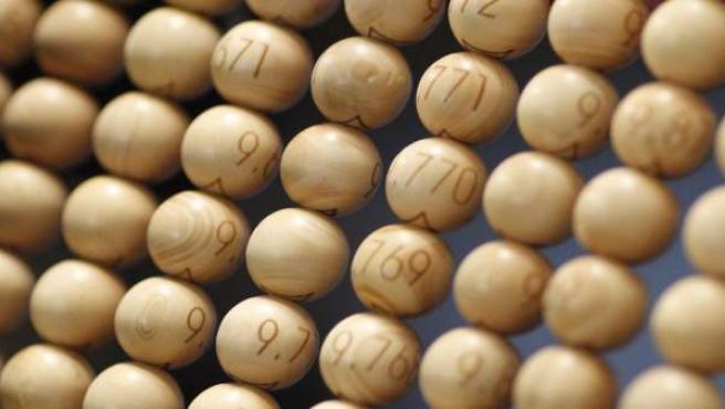 Sorteo Lotería de Navidad 2015, bombos, bolas