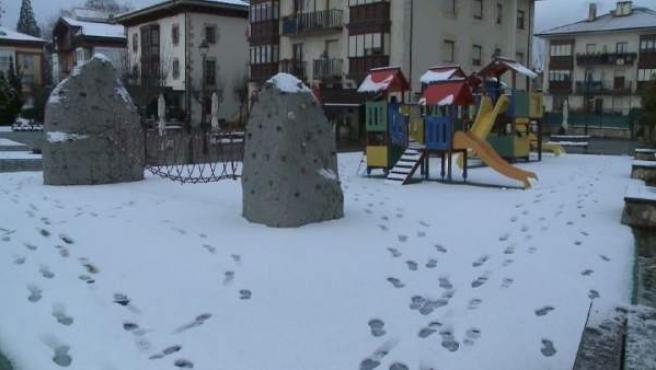 Nieve en Murgia (Álava)