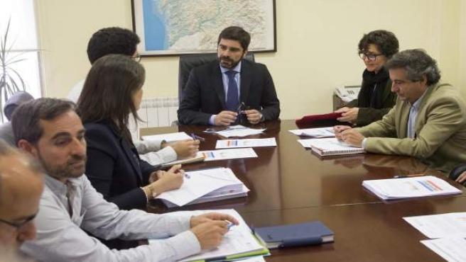 Reunión de la oficina técnica de la sequía el pasado 11 de mayo