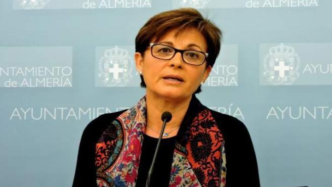 La concejala socialista en el Ayuntamiento de Almería Adriana Valverde