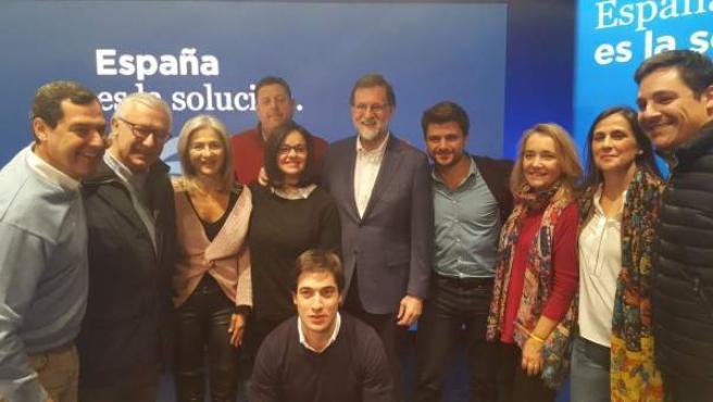 El PP de Sevilla apoya a García Albiol y Mariano Rajoy en Cataluña