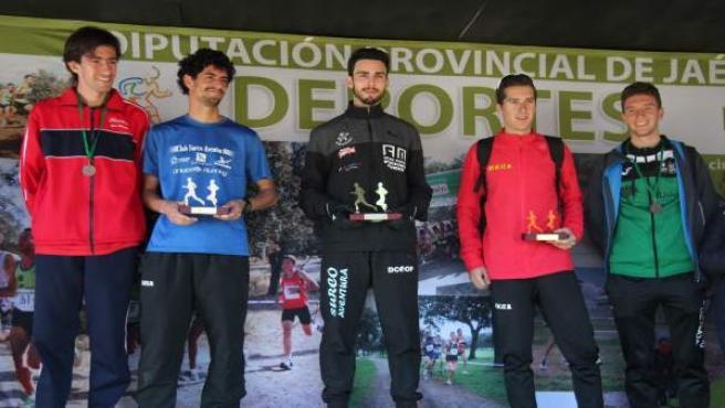 Entrega de premios en el XVIII Campo a Través La Garza