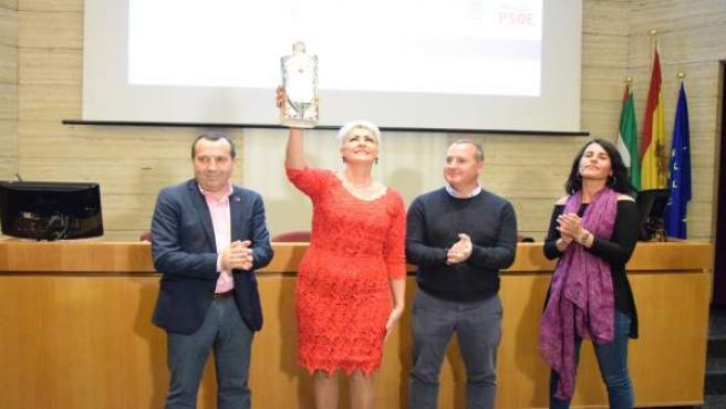 Irma Soriano Ruiz Espejo Premio Carmen Olmedo