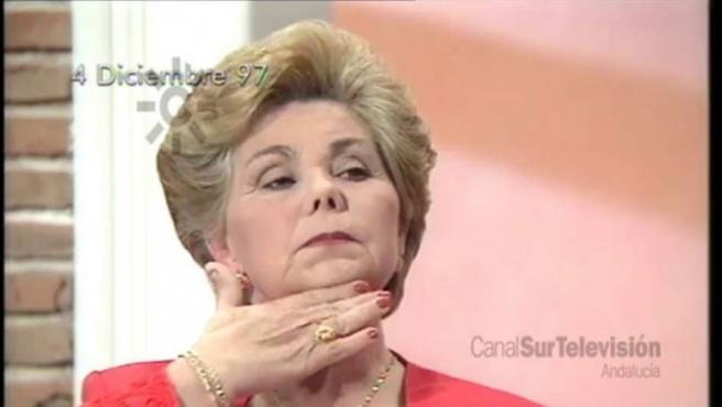 Ana Orantes denunció su caso hace 20 años en Canal Sur TV.