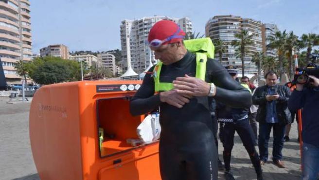 Punto naranja socorrismo evitar ahogamientos sistema pionero