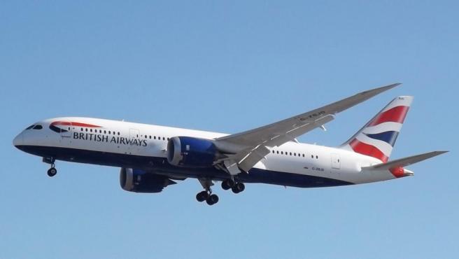 Un Boeing 787-8 de British Airways.